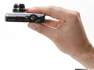 The Canon SD880 IS. Photo courtresy of www.dpreview.com
