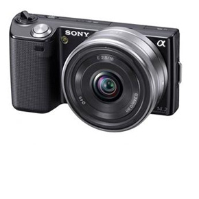 Sony NEX-5 with 16mm Lens