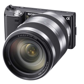 Sony NEX-5 with 18-200mm Zoom Lens