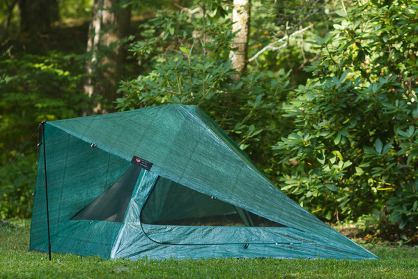 The Cuben Solo in Forest Green