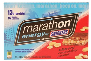 Snickers Marathon Bar - Chocolate Peanut
