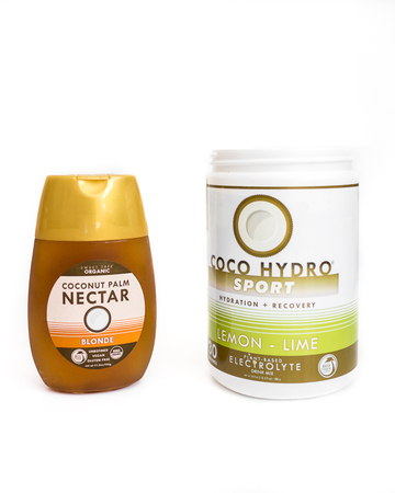 CocoHydro Sport and Coconut Palm Nectar