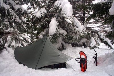 Snow Camping with the Terraform