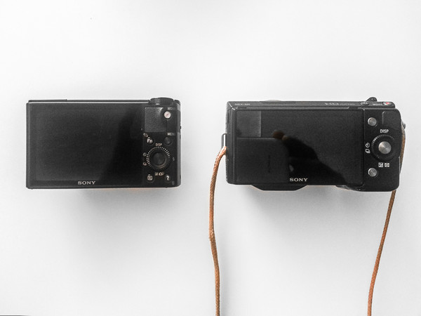 RX100 vs. NEX 5N - Rear View