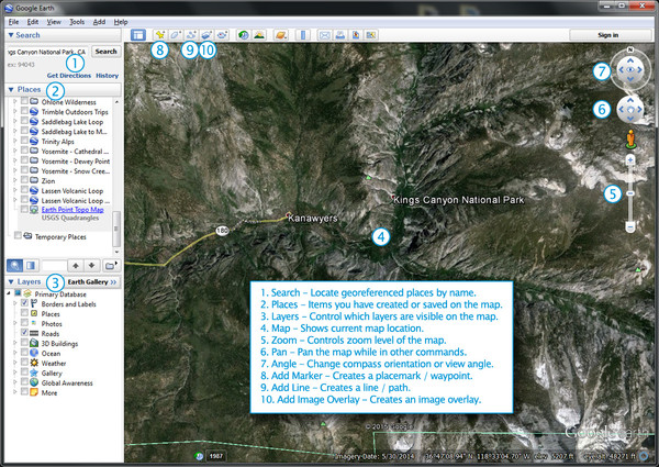 Google Earth Interface Reference