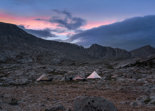 Camp Near Forester Pass