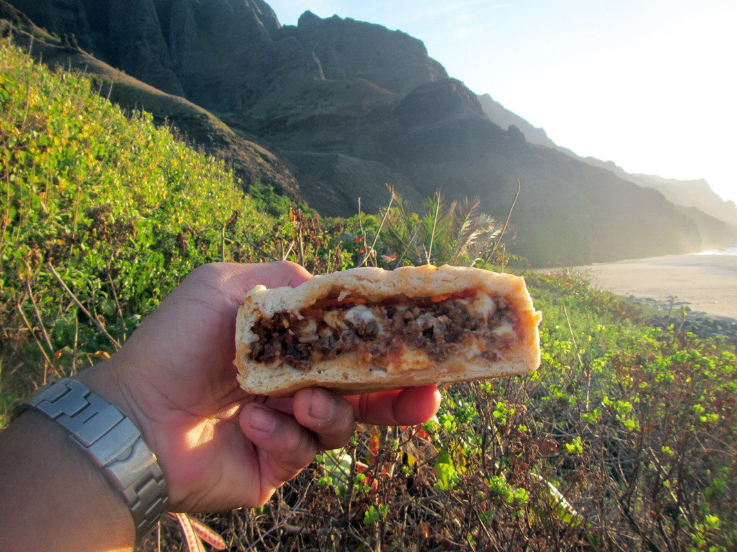 A Cheeseburger on the Kalalau Trail