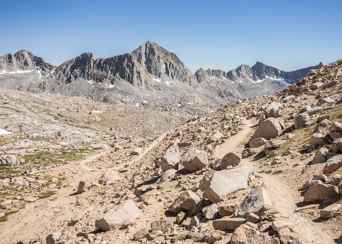 South Side Bishop Pass