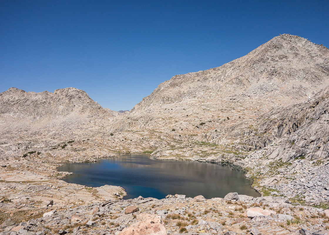 Barrett Lakes and Knapsack Pass