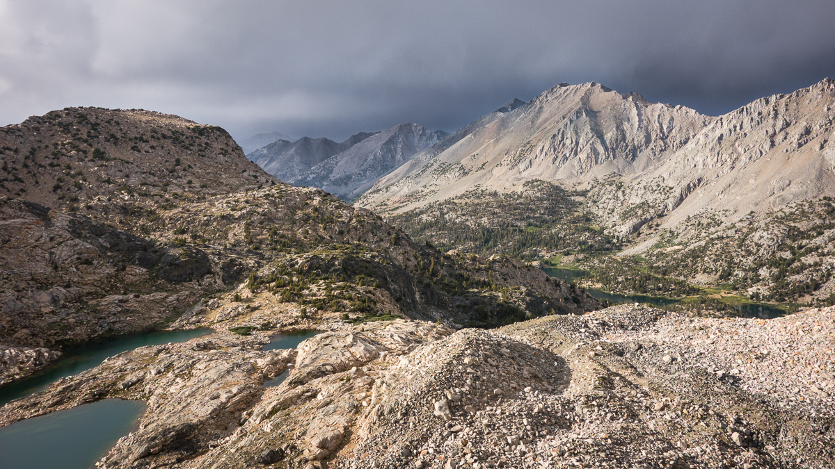 Thunderstorm Clearing over Glen Pass