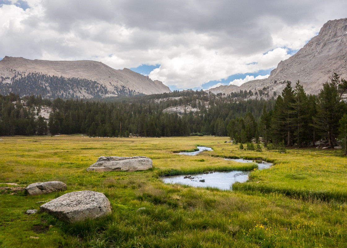 Crabtree Meadow and Mt. Whitney