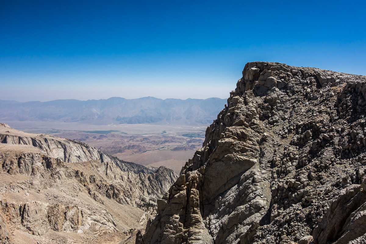 The Summit of Mt. Langley. 14,026