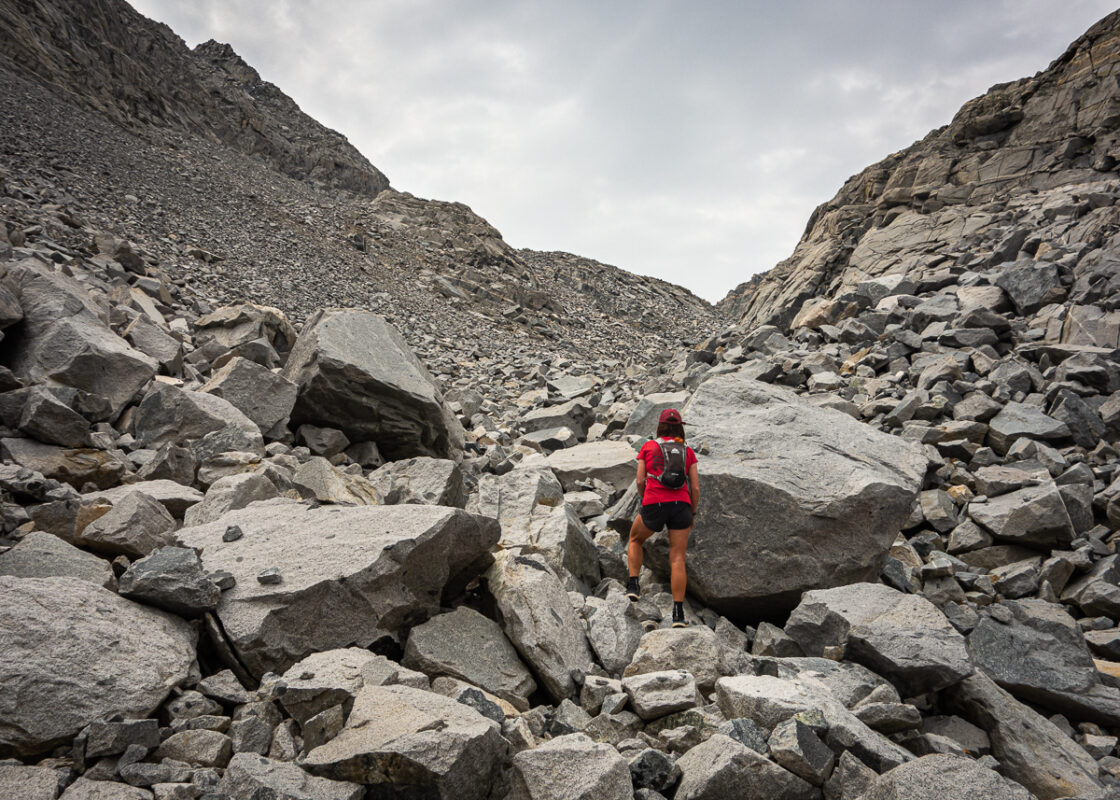 Between 1000 rocks and a hard place